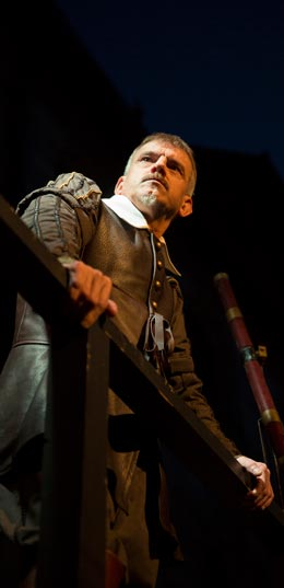 Udo Gerstacker als Wallenstein